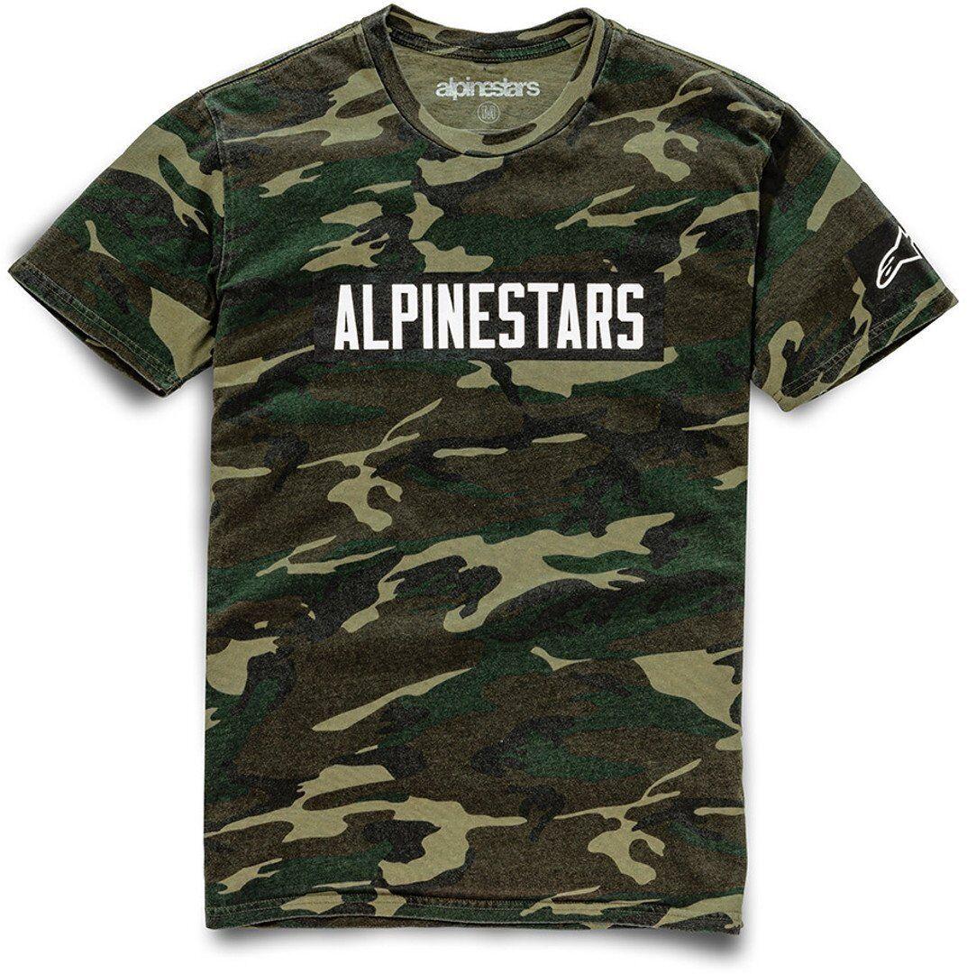Alpinestars Adventure T-Shirt unisex Black Red Size: M