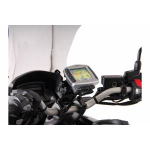 SW-Motech Honda VFR 1200 X Crosstourer (11-) GPS Mount for Handlebar  - Size: One Size
