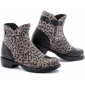 Stylmartin Pearl Leo Ladies Motorcycle Boots  Black Brown Size: