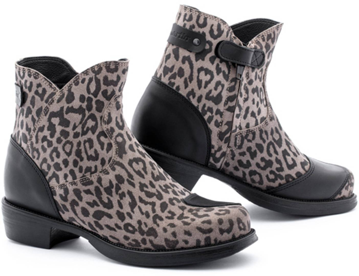 Stylmartin Pearl Leo Ladies Motorcycle Boots  - Black Brown - Size: 37