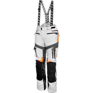 Rukka Roughroad Gore-Tex Motorcycle Pants White Orange 56