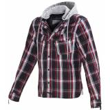 Macna Westcoast Forest Textile Jacket  - Red - Size: XL