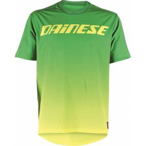 Dainese Driftec Bicycle Shirt Green Yellow L