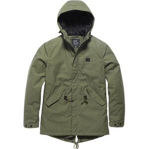 Vintage Industries Wallbrook Parka Jacket  - Green - Size: S
