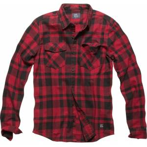 Vintage Industries Austin Shirt  - Red - Size: S