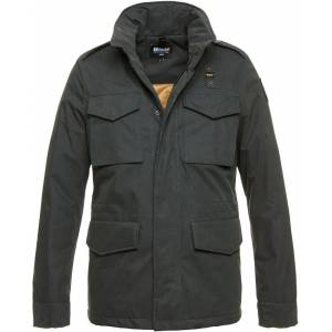 Blauer USA Aaron Gabardine Jacket unisex Black Size: S