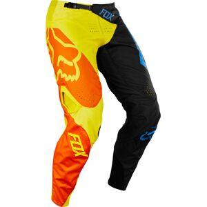 FOX 360 Preme Youth Pants  - Black Yellow