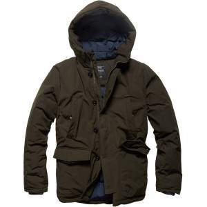 Vintage Industries Hawker Parka  - Green - Size: S