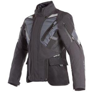 Dainese Gran Turismo GoreTex Motorcycle Textile Jacket  - Black Blue - Size: L XL