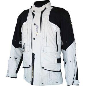 Helite Touring 2.0 Airbag Motorcycle Textile Jacket  - Black Grey - Size: L