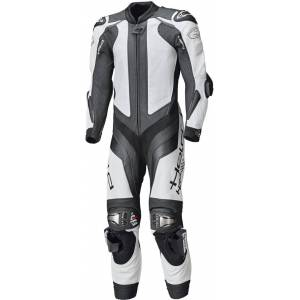Held Race-Evo II One Piece Motorcycle Leather Suit  - Black White - Size: L XL 46 48