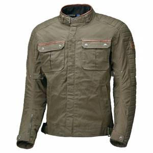 Held Bailey Motorcycle Textile Jacket  - Green Brown - Size: S