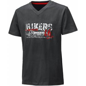 Held Bikers T-Shirt  - Black Red - Size: XL