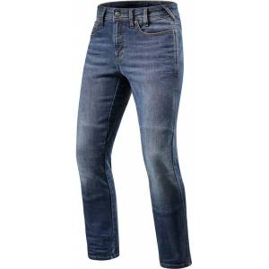 Revit Brentwood SF Motorcycle Jeans  - Blue - Size: 32