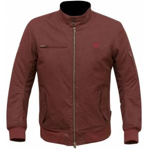 Merlin Wesley Motorcycle Textile Jacket  - Red - Size: M