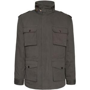 John Doe Field Motorcycle Textile Jacket 2017  - Green - Size: S