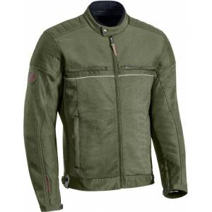 Ixon Filter Motorcycle Textile Jacket  - Green Brown - Size: S