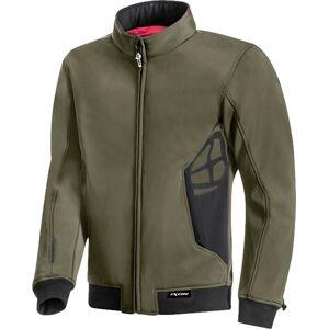 Ixon Camden Motorcycle Textile Jacket  - Green Brown - Size: S