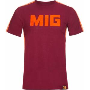 VR46 Riders Academy Andrea Migno T-Shirt  - Red Brown - Size: M