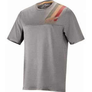 Alpinestars Alps 4.0 Bicycle Jersey  - Grey Red - Size: XL