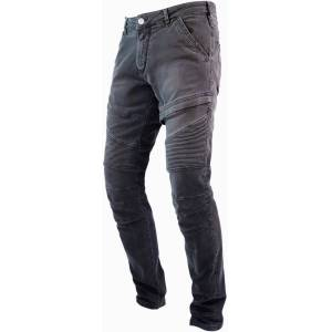 John Doe Rebel Motorcycle Jeans Pants  - Grey - Size: 38