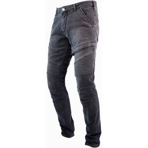 John Doe Rebel Motorcycle Jeans Pants  - Grey - Size: 38