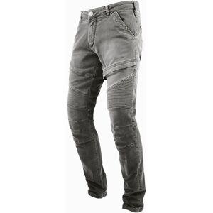 John Doe Rebel Motorcycle Jeans Pants  - Grey - Size: 34