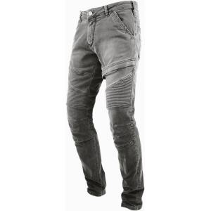 John Doe Rebel Motorcycle Jeans Pants  - Grey - Size: 30