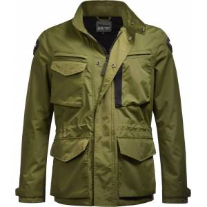 Blauer Ethan Motorcycle Textile Jacket  - Green - Size: S