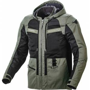 Macna Chinook Motorcycle Textile Jacket  - Green - Size: S