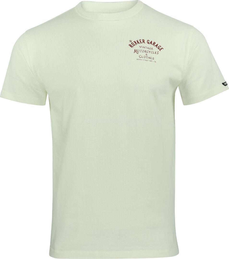 Rokker Garage T-Shirt White XL