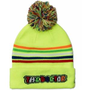 VR46 The Doctor Beanie Hat Kids Hat Yellow
