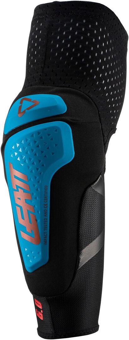 Leatt 3DF 6.0 Motocross Ellbow Protectors Blue L