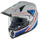 Held Makan Motocross Helmet  - Grey Blue - Size: 2XL