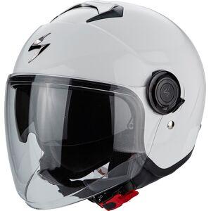 Scorpion Exo City Solid Jet Helmet  - White - Size: M