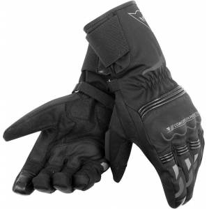 Dainese Tempest Unisex D-Dry Long Motorcycle Gloves Black 3XL