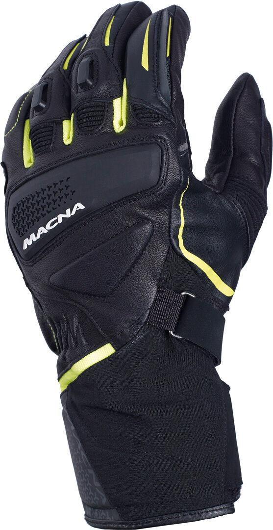 Macna Fugitive Gloves Black Yellow 3XL