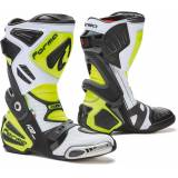 Forma Ice Pro Flow Motorcycle Boots  - White Yellow - Size: 42