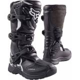 Fox Comp 3Y Youth Motocross Boots  - Black - Size: 32 33