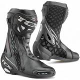 TCX RT-Race Motorcycle Boots  - Black - Size: 48