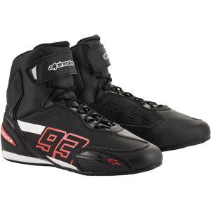 Alpinestars MM93 Austin Motorcycle Shoes Black Red 40