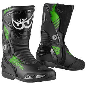 Berik Shaft 3.0 Motorcycle Boots Black Green 40