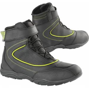 Büse B57 Motorcycle Shoes Black Yellow 48