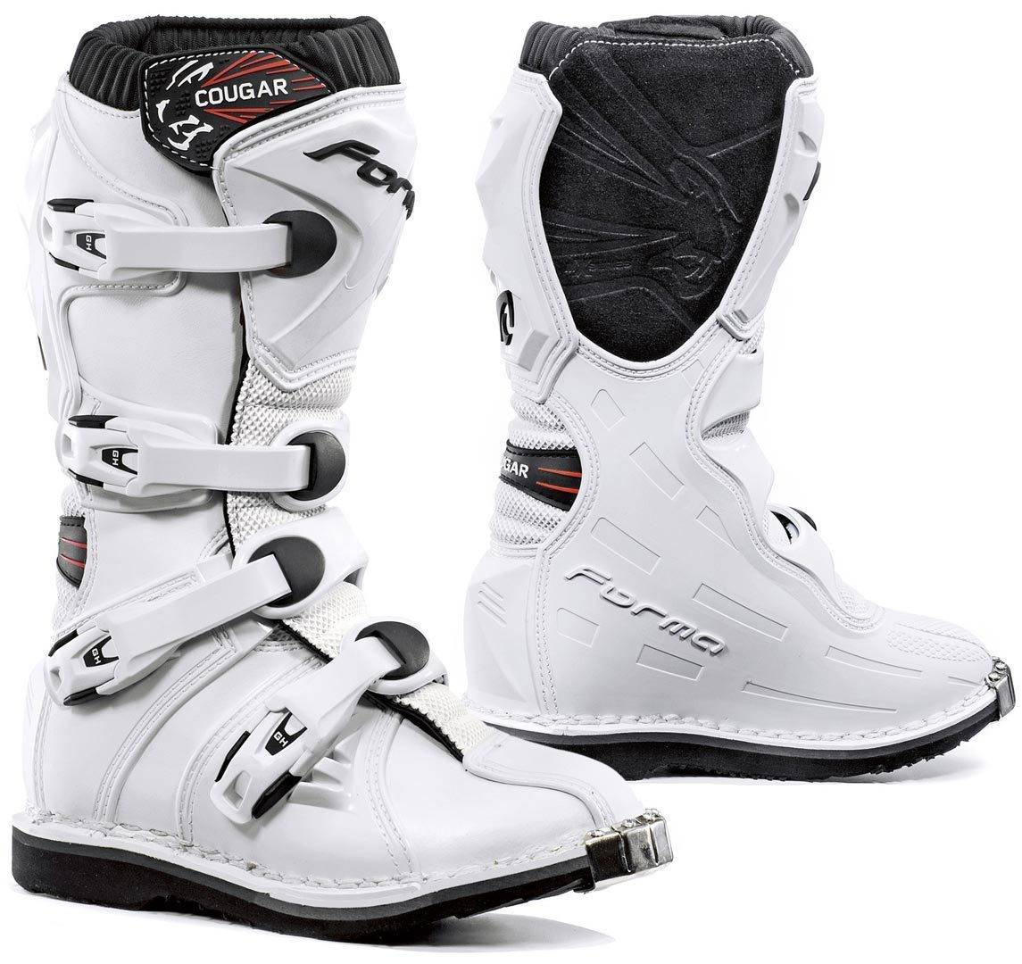 Forma Cougar Kid's Motocross Boots White 34