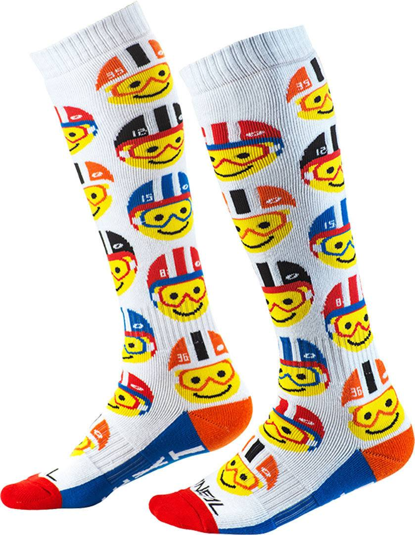 Oneal Pro Emoji Racer Motocross Socks Multicolored One Size