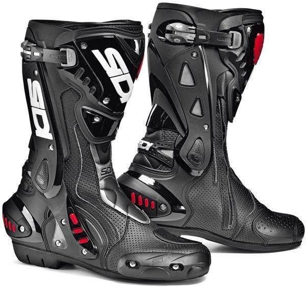 Sidi ST Air Motorcycle Boots unisex Black Size: 44
