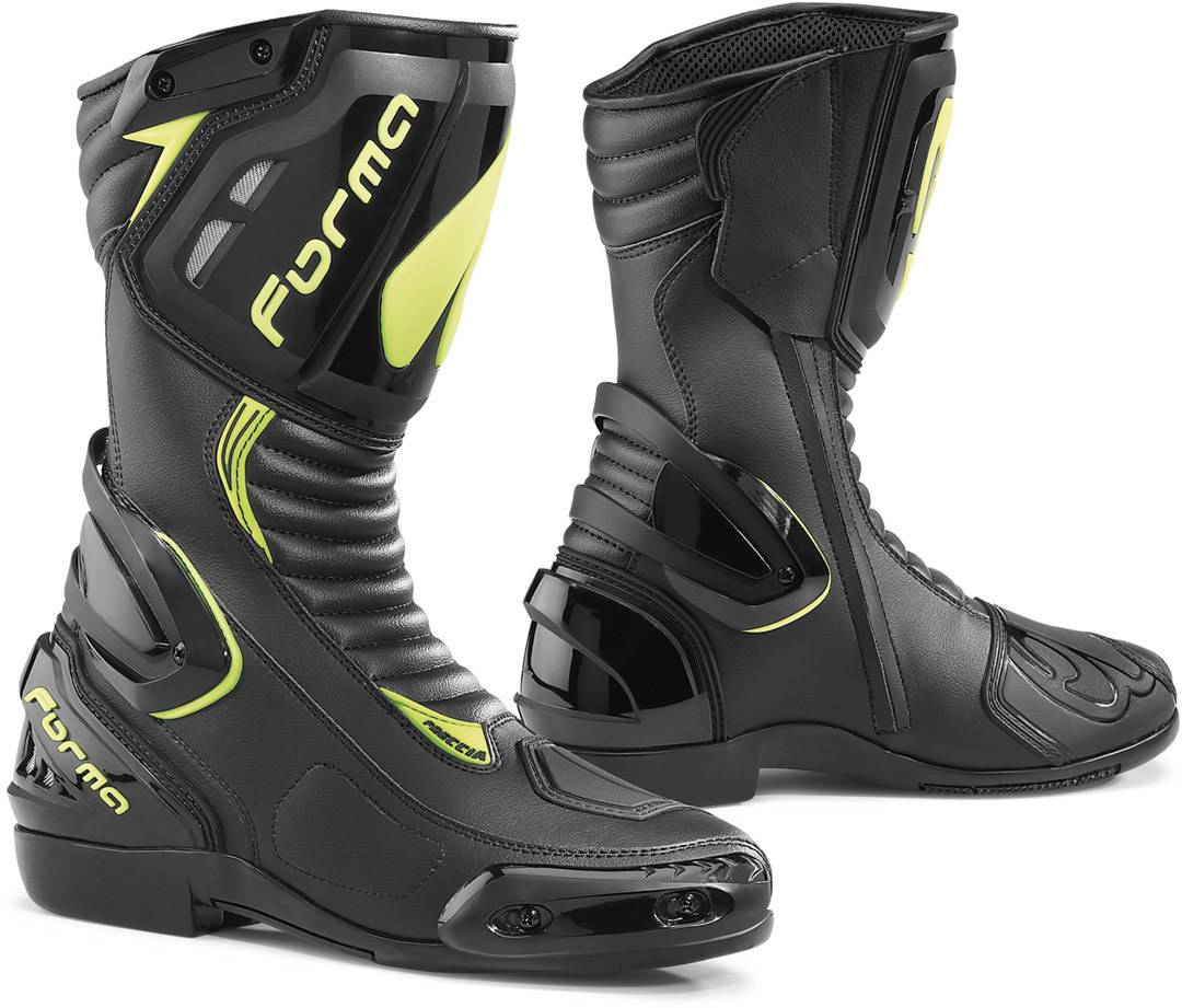 Forma Freccia Motorcycle Boots unisex Yellow Size: M