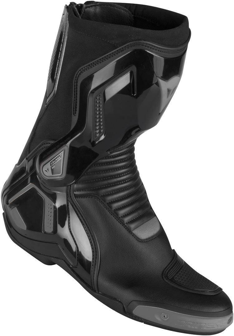 Dainese Course D1 Out Motorcycle Boots  - Black Grey - Size: 46