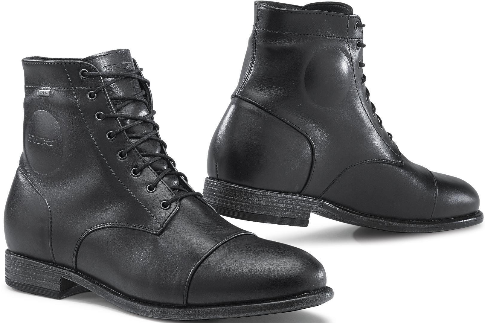 TCX Metropolitan Gore-Tex Motorcycle Boots unisex Black Size: 39