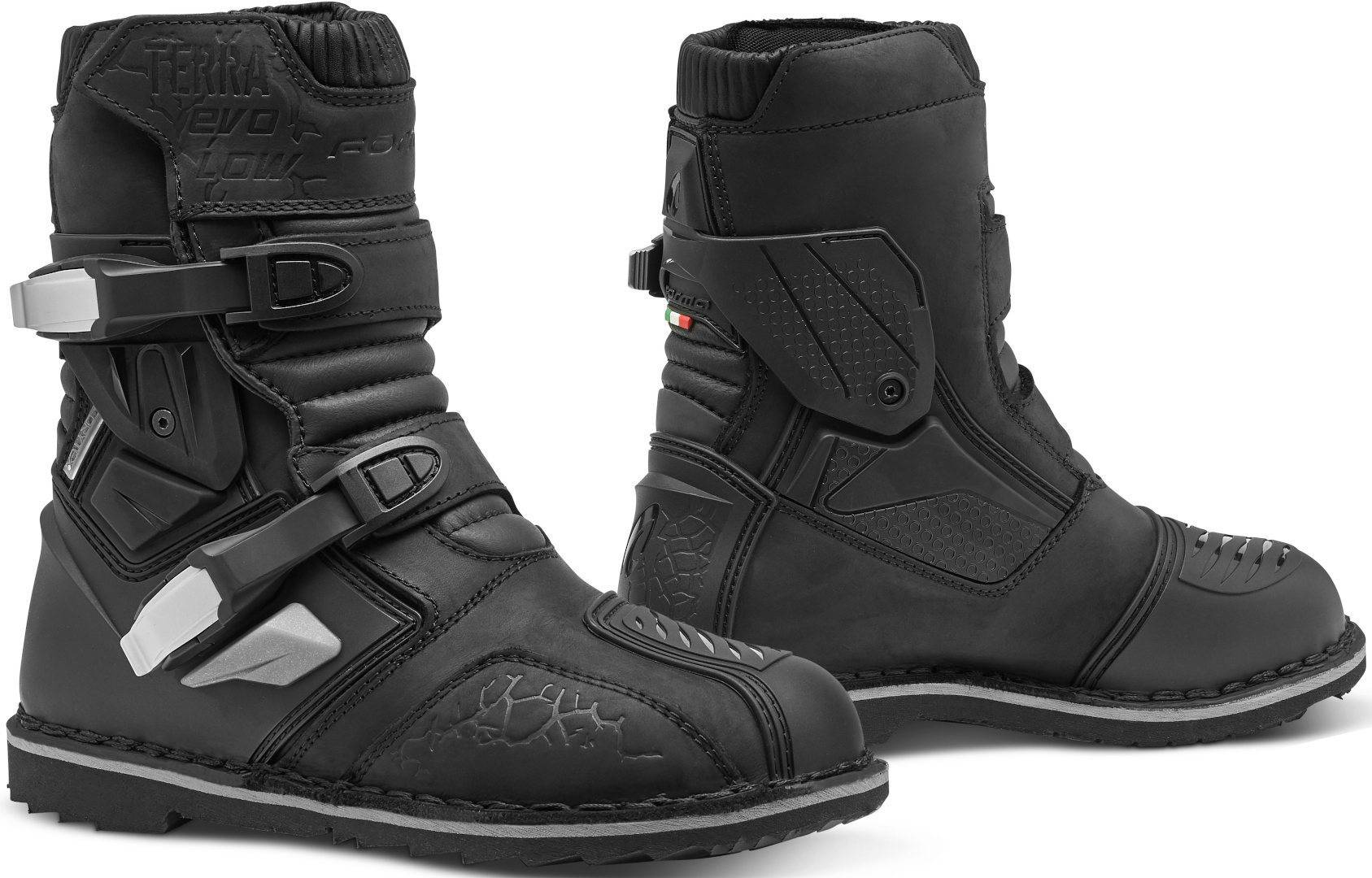 Forma Terra Evo Low Motorcycle Boots  - Black - Size: 39